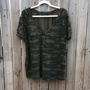 Sanctuary camo print t-shirt